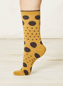 Paolini Socks-Mustard - Thought | Braintree