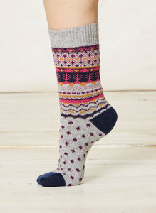 Sascha Socks-Grey - Thought | Braintree