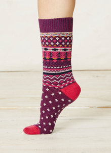 Sascha Socks-Plum - Thought | Braintree