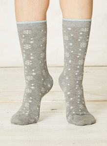 Olwen Socks Light Grey Marle - Thought | Braintree