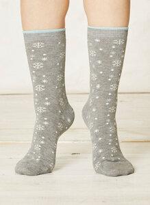 Olwen Socks Light Grey Marle - Braintree
