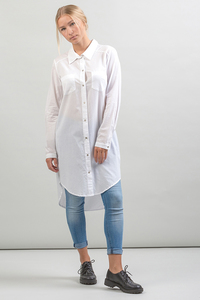 Blusenkleid VACAMA weiß - Lovjoi