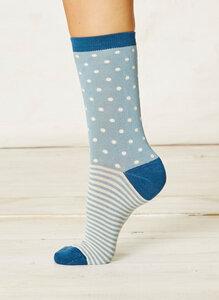 Degas Socks-Cloud Blue - Braintree