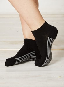 Solid Jane Socks-Black - Braintree