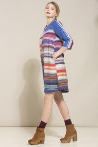 LANIUS- veganes Tencelkleid Colorful in schönen Farbtönen - Lanius