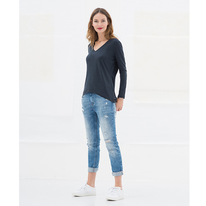 Lena Top - Dark Navy - Miss Green