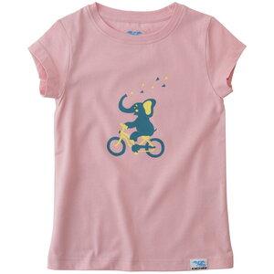 IceDrake Kinder T-Shirt Elefant (rosa) - IceDrake