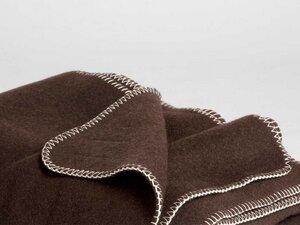 Yakwolle Decke Dark Brown 150x200 cm - Yumeko