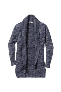 Fair trade Strickjacke Frauen DELUXE #FLECKED  - recolution