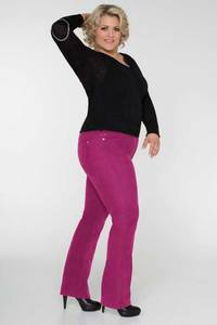 Diva-Jeans CORD * pink - Pearls of Laja