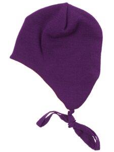 Ohrenmütze mit Innen Baumwollplüsch - Reiff