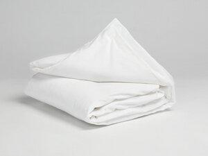 Kinderbettwäsche Baumwollsatin Pure White - Yumeko