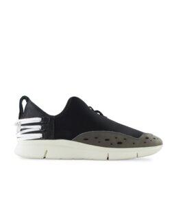 Bamboo Runner schwarz - weiße Sohle - ekn footwear