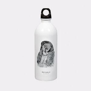 OWL HEAD Trinkflasche - Rotholz