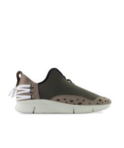 Bamboo Runner oliv - weiße Sohle - ekn footwear