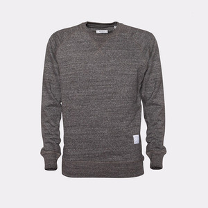 JAPAN REDUCED Raglan Sweater Steel Heather - Rotholz