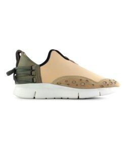 Bamboo Runner honig - weiße Sohle - ekn footwear
