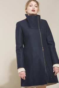 LANIUS - femininer Feltedwool Coat - Lanius
