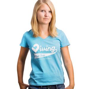 Diving Red Sea Damen V-Shirt  - Lexi&Bö