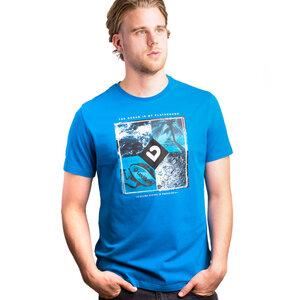 Paradise Herren T-Shirt Mykonos Blue - Lexi&Bö