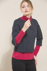 LANIUS- lässiges Jerseyshirt GOTS - LANIUS