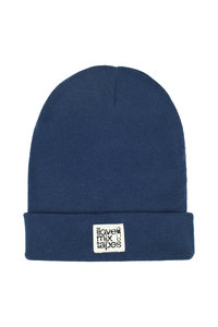 ilovemixtapes Beanie _ denim Bio & Made in EU - ilovemixtapes