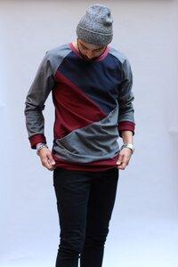 Sweater Bruno weinrot - ManduTrap