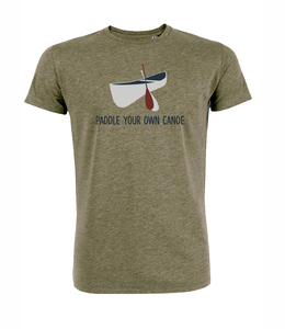 Paddle your own canoe- T-Shirt  - GreenBomb
