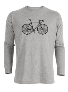 Bike Retro - Riffle - Langarmshirt - GreenBomb