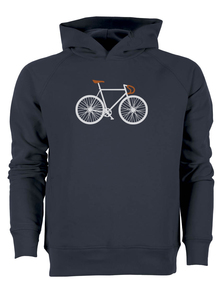 Bike Two - Real - Hooded Sweater - GreenBomb