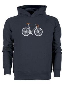 Bike Two - Real - Hooded Sweater - GreenBomb