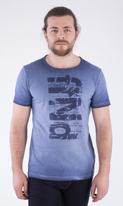 MOR-2230 HERREN G.DYED T-SHIRT - ORGANICATION