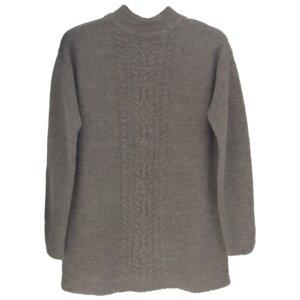 Cable Sweater - Beige - Les Racines Du Ciel