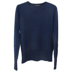 Plain Color Sweater - Blue - Les Racines Du Ciel