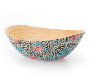 Bambusschale Esquif - Mosaik Schale bunt - Bea Mely