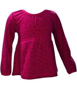 Mädchen Shirt LA rot/gemustert Bio Baumwolle - People Wear Organic