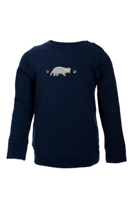 Sweatshirt - dunkles blau - People Wear Organic