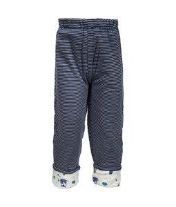 Baby Wendehose blau/geringelt Bio Baumwolle - People Wear Organic