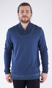 MOR-2198 HERREN G.DYED SWEATSHIRT - ORGANICATION