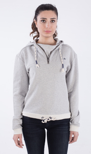 WOR-2111 DAMEN ZIPPER HOODIE - ORGANICATION
