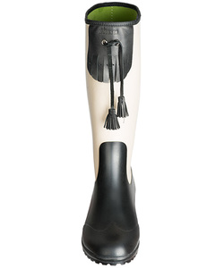 Lady Boot raven - Gummistiefel aus Naturkautschuk - Alma & Lovis