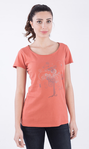 WOR-2165 DAMEN T-SHIRT - ORGANICATION