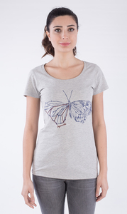 WOR-2155 DAMEN T-SHIRT - ORGANICATION