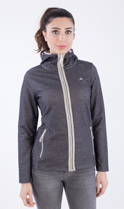WOR-2130 DAMEN ZIPPER HOODIE - ORGANICATION