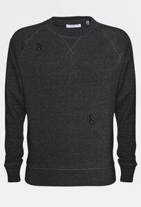 CAPITAL /  Raglan Sweater  MODIFIED DARK GREY - Rotholz