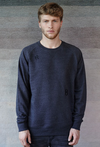 CAPITAL /  Raglan Sweater  MODIFIED DARK GREY - Rotholz
