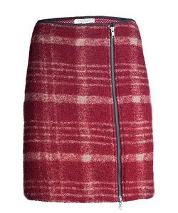 Tartan Skirt berry - Alma & Lovis