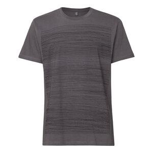 ThokkThokk Strokes T-Shirt black/castlerock - THOKKTHOKK