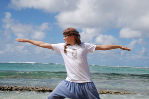 Herren Yoga-Shirt 'Yogi by Nature' - BAGHI