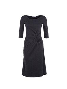 Jerseykleid Gitte Knotendesign grau oder schwarz - Skrabak